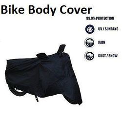 Black 2*2 MOTORCYCLE BODY COVER