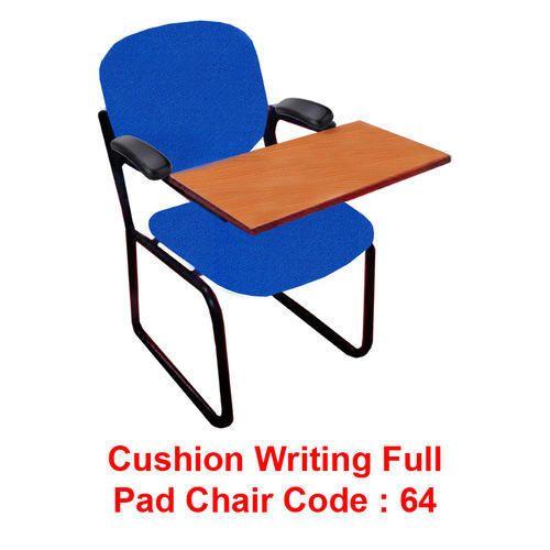 White Cushion Writing Full Pad Chair