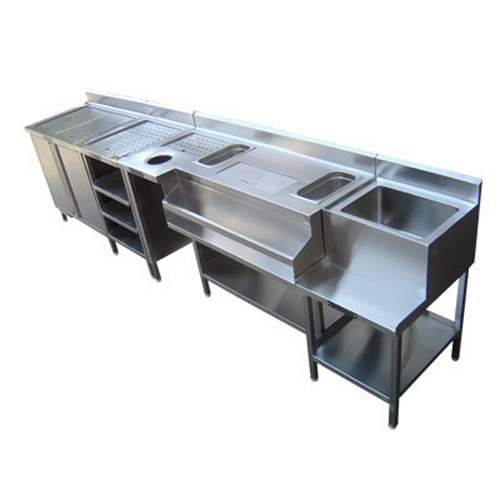 Stainless Steel Bar Counter At Rs 40000