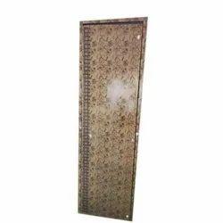 Casement Polished PVC Flush Door, For Bathroom, Interior