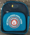 Polyester Blue And Black Kids School Bag