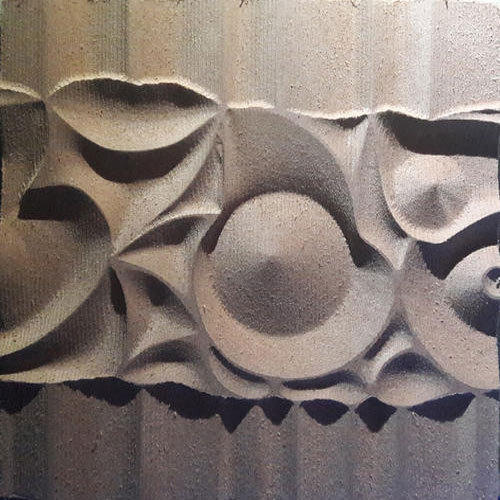 MDF Designer Rectangular 3D Wall Panel
