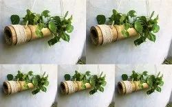 Coir Garden Bamboo Hanging Planters With Adjustable Robe