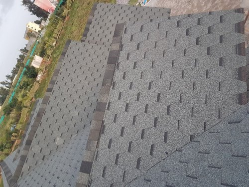 Color Coated Mosaic Design Asphalt Cement Roofing Shingle, Rs 120 /square  feet | ID: 20877625912