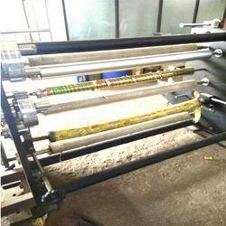 Self Adhesive Tape Log Roll Cutting Machine
