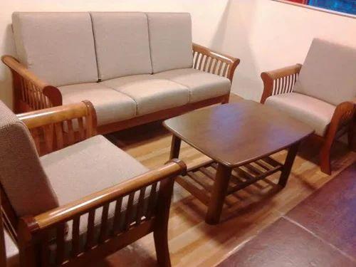 Domro Design Sofa Set Teak Wood Five Year Warranty Full Set