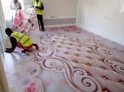 D Flooring Services for Residential Building