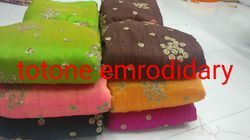 To Tone Embroidery Fabric