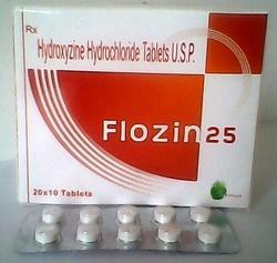Hydroxyzine Hydrochloride 10mg Tablet, 1*10, Rs 0 46 /strip