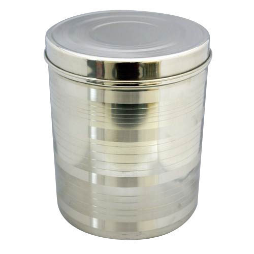 Stainless Steel Storage Containers Capacity 10 KG Rs 150 piece