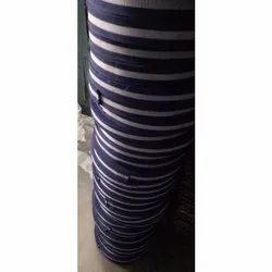 Blue & White Striped Belt Niwar
