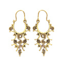 Long Earring Dangle Earring Hook Earring Casual Wear Earring Brass Gold Plated Jewelry