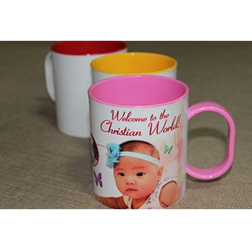 Plain And Printed Polymer Unbreakable Coffee Mug