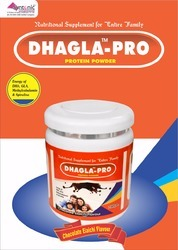 DHA GLA Protein Each 100gms Contains Protein (20%)-40gm,Carbohydrate- 53 gm, Energy Value -375 Kcal