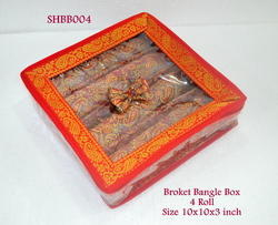 Broket Bangle Box 4 Roll