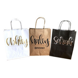 Printed Craft Paper Carry Bag