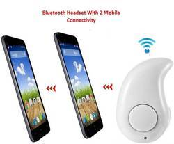 ROQ 2 Mobile Connectivity Smallest Invisible Bluetooth Headset With Mic