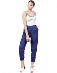 Cotton Slub Trousers