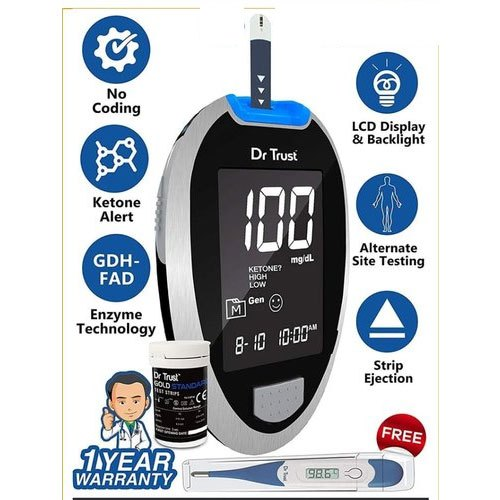 Glucometer Device - Dr Trust Glucometers Wholesale Trader from Chennai