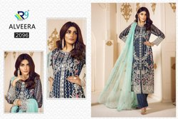 R9 Launch Alveera Georgette Pakistani Salwar Kameez