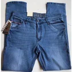 Plain Regular Fit Denim Men Jeans