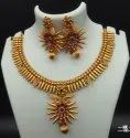 High Gold Plated Copper Jewellery Set