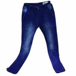 Mens Velvet Blue Trouser, Size: 30 to 42