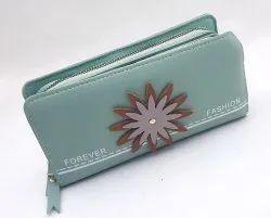 10 Colors Double Zip Ladies Wallet