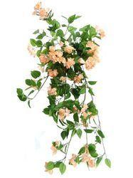 De Gardenia Peach Artificial Bougainvillea Flower for Home Decor