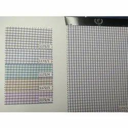 Poly Cotton Check Fabrics
