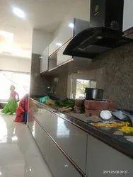 Acrylic Finished Kitchen