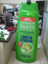 Product Replica For Garnier Shampoo Bottle