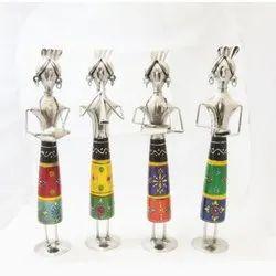 4 Musician Doll Sculpture