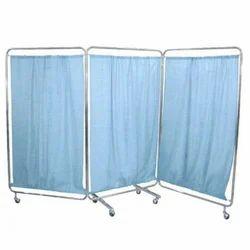 Blue Bed Side Screen