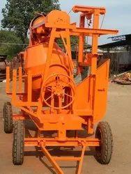 JSC004 Mild Steel Hopper Concrete Mixer