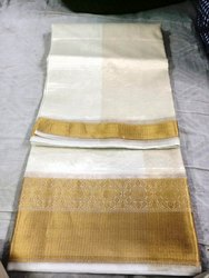 Wedding Wear Jacquard Pure Organza Silk Saree, 5.5 m (separate blouse piece)