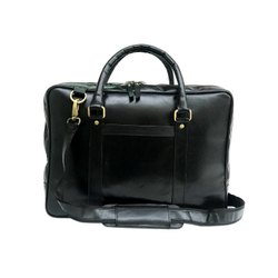 Genuine Buffalo Vintage Leather Laptop Bag For Wholesale