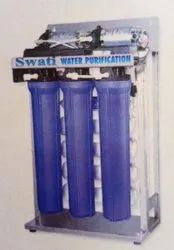Reverse Osmosis Stainless Steel Water Purification Systems, Storage Capacity: 1000 L