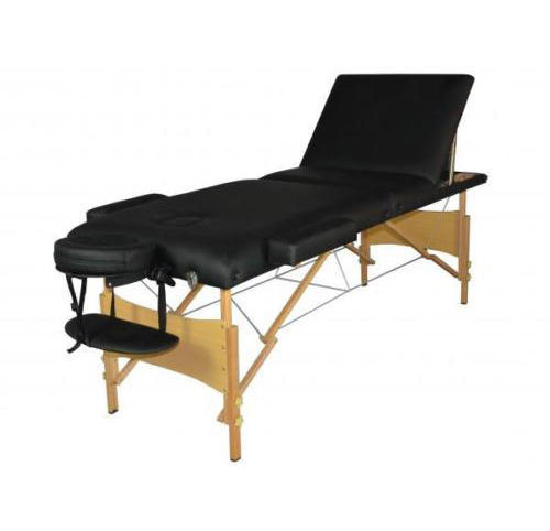 Portable 3 Section Wooden Massage Bed