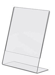A-4 L Shape IM Stand 8.3 X 11.7