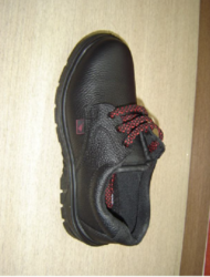 Liberty Low Ankle Leather Black Safety Shoes