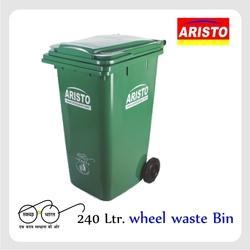 Aristo Wheel Dustbin 240 Ltr