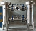 Fabricated SS Duplex Strainer