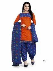 Cotton Anarkali Ladies Salwar Suits, Handwash