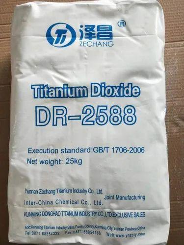 Titanium Dioxide Rutile - DR 2588 Inter China Titanium