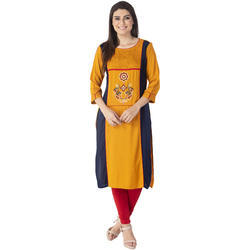 Cotton Long Length Kurtis