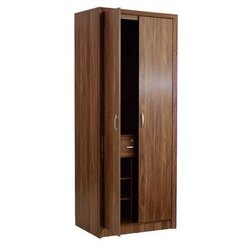 Double Door Wooden Almirah, Size/dimension: 72 X 45 inch