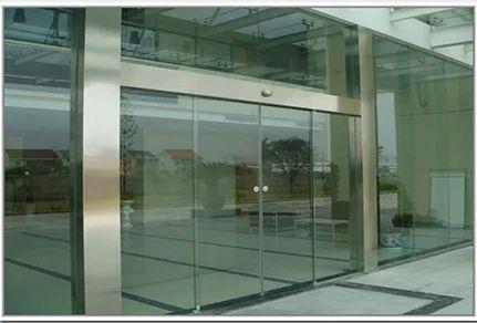 Frameless Automatic Sliding Glass Door Glass Walls Chennai Id