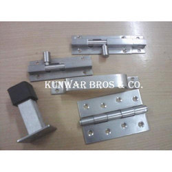 Silver Finish Stainless Steel Door Fittings