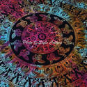 Mandala Indian Beach Towel